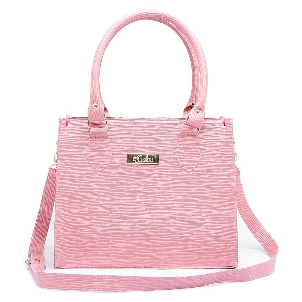 f5812edb4 bolsa feminina tiracolo alca transversal rosa -3 modelos. Carregando zoom.