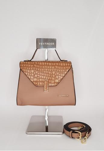 bolsa feminina tiracolo com detalhes em croco! super moderna