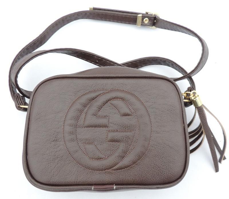 44aee54db Bolsa Feminina Tiracolo Gucci Marrom - R$ 69,99 em Mercado Livre