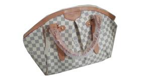 43f9a9ffe Bolsa Tivoli Pm Couro Natural Louis Vuitton, Damier Azur - Bolsas ...