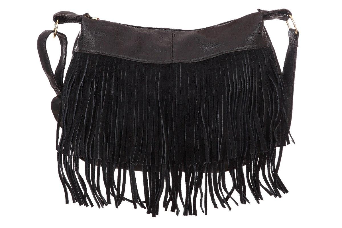 3986a8696 bolsa feminina transversal saco de franja camurça promoção. Carregando zoom.