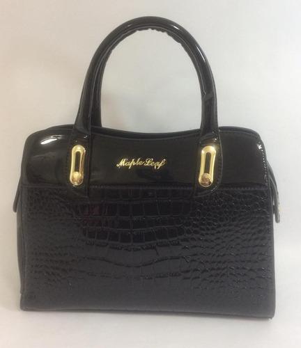 bolsa feminina verniz super luxo