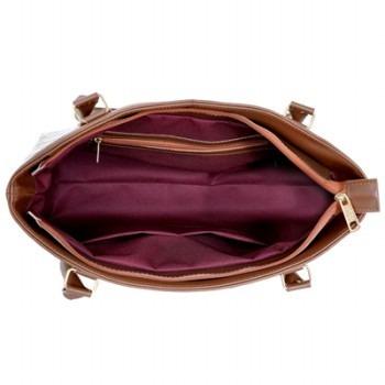 afcda4855 Bolsa Feminina Victor Valencia Grande C/ Ziper Frontal Preta - R$ 99 ...