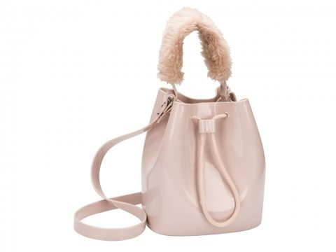 bolsa feminina zaxy wish bag verniz nude cd167