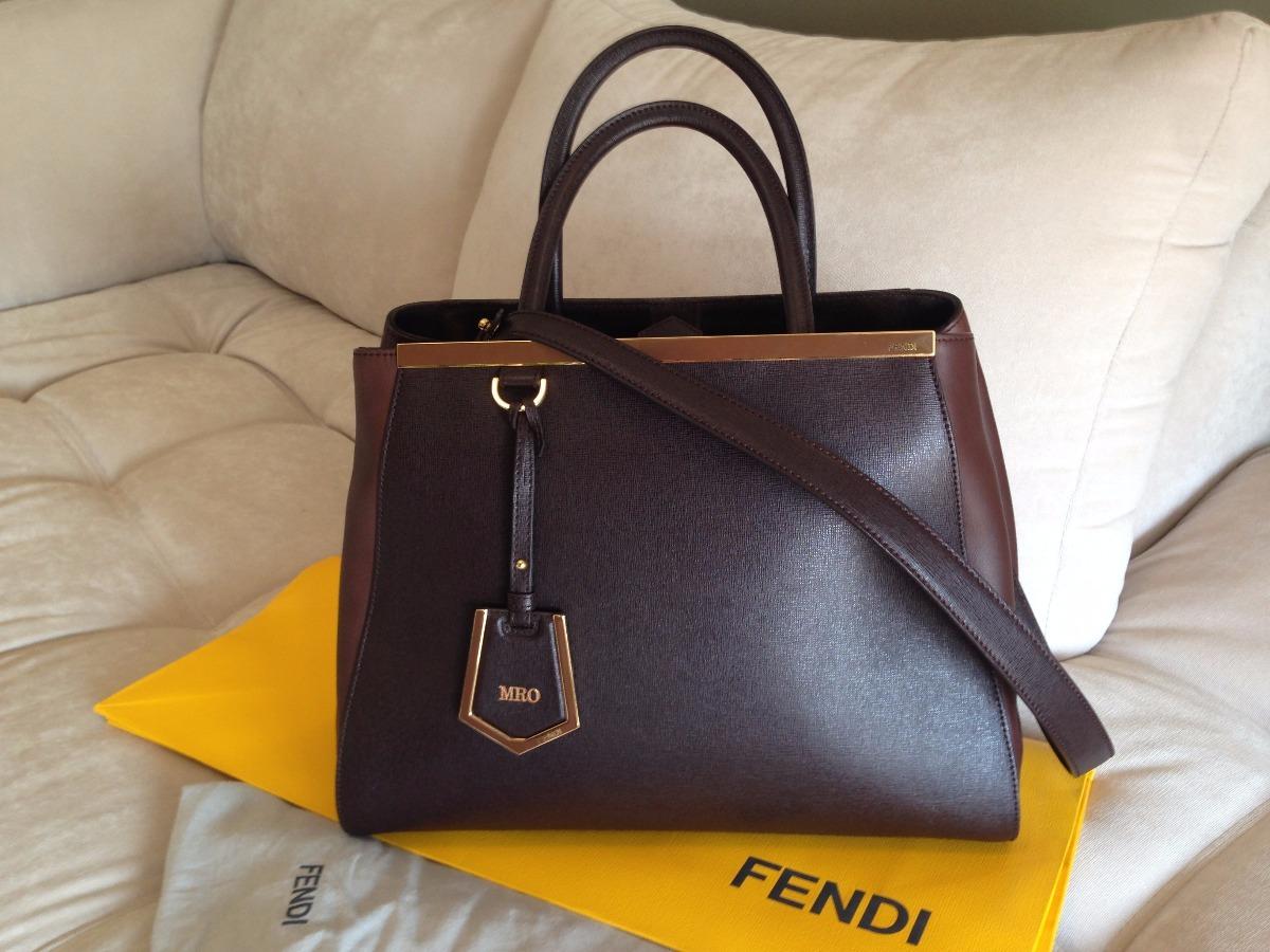 5c0d80551 Bolsa Fendi 2jours - Original Com Nota Fiscal - R$ 4.299,00 em ...