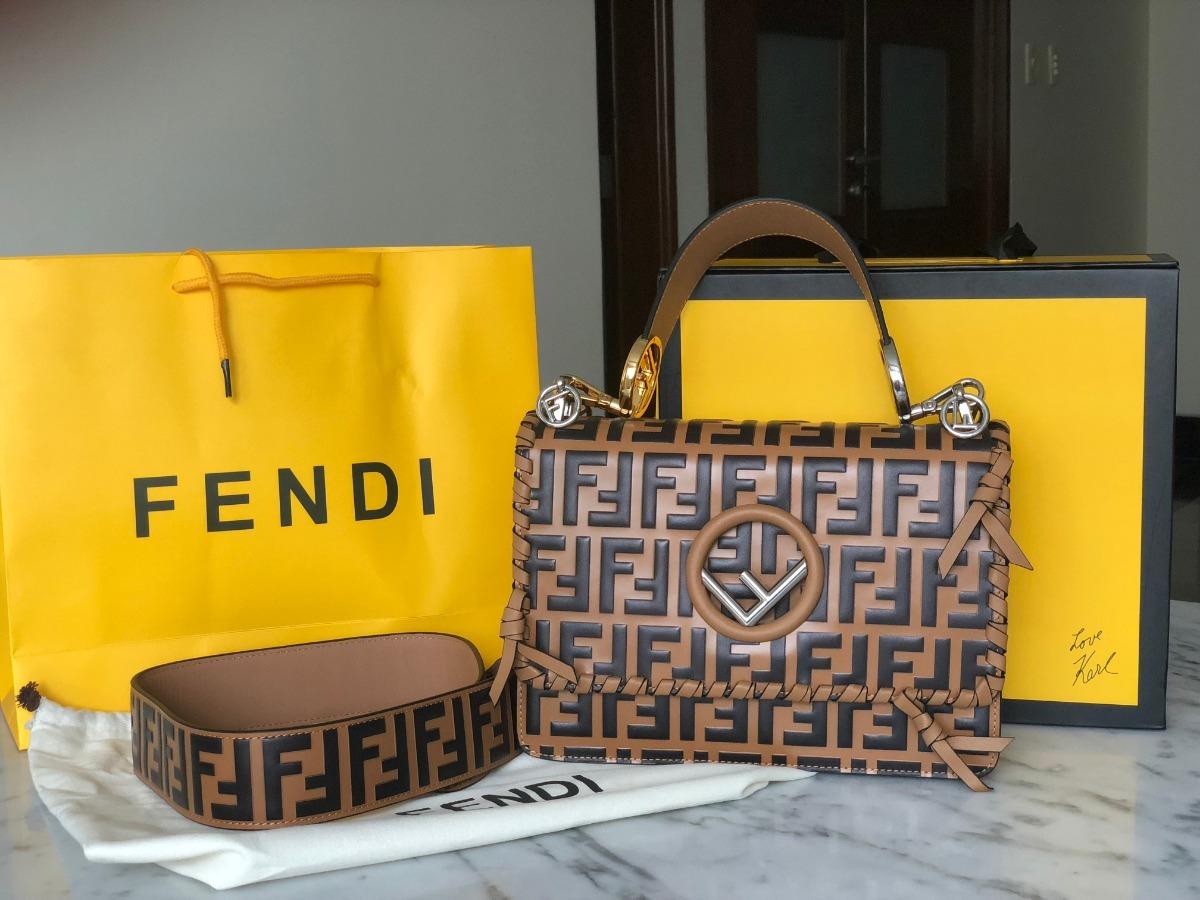 3bcd82167 Bolsa Fendi Kan I F Original Oportunidade - R$ 2.199,00 em Mercado Livre