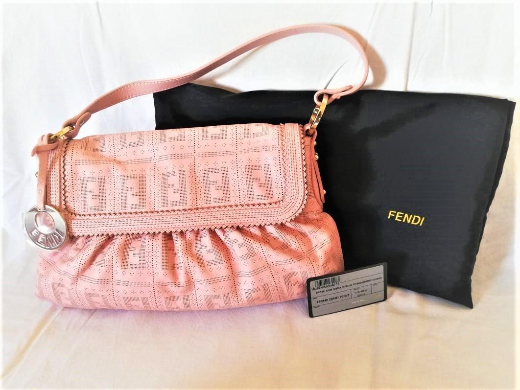 bolsa fendi nova original importada em couro rosa. Carregando zoom. f35d6eef1a67