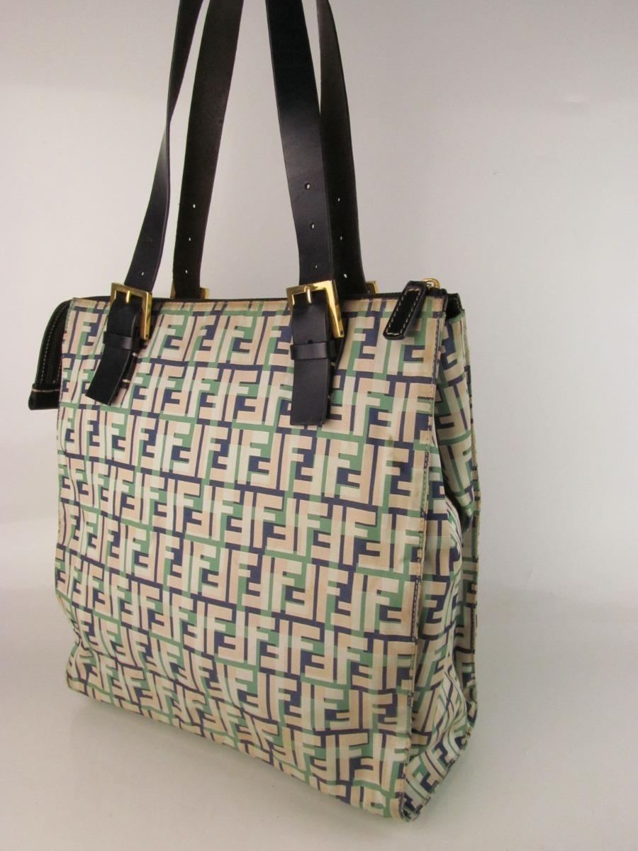 83edd2d92 bolsa fendi original tipo sacola com ziper maravilhosa. Carregando zoom.