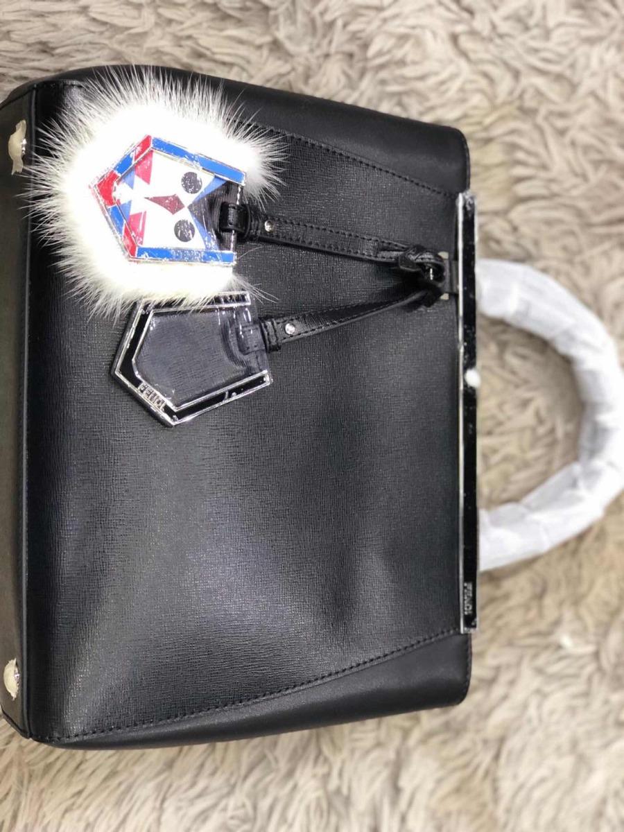 418e19fed Bolsa Fendi Petit 2 Jours De Couro - R$ 1.599,00 em Mercado Livre