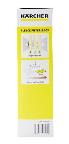 bolsa filtro para wd4 premiun 04 unid karcher