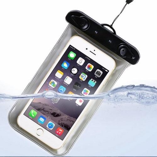 bolsa forro estuche celular universal sumergible agua resist