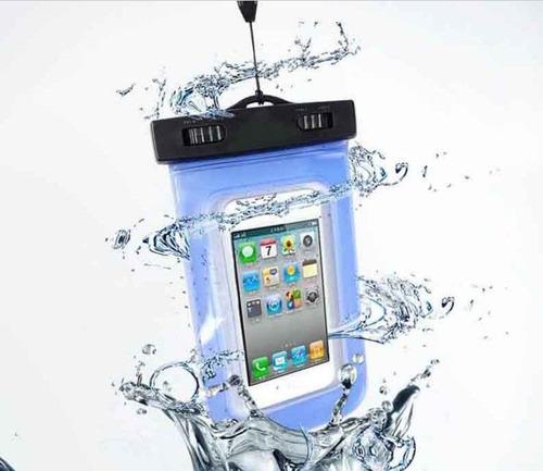 bolsa forro estuche protector celular ipx8 sumergible playa