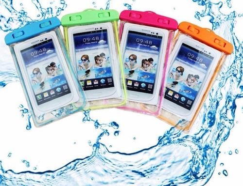 bolsa forro para celular sumergible ipx8 reflectivo