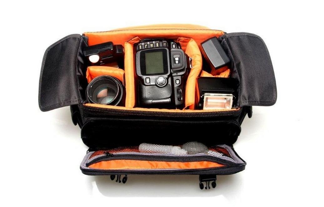 Bolsa fotografia c mera flash lente sony nikon canon - Bolsas para flash ...