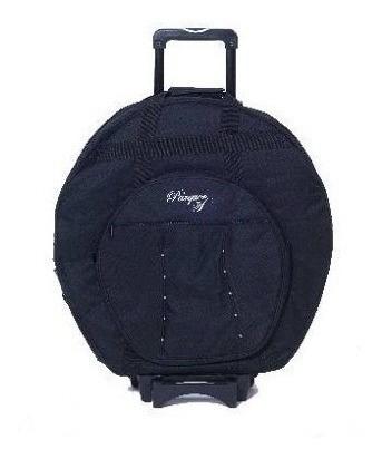 bolsa / funda de platos portatil con ruedas parquer acolchad