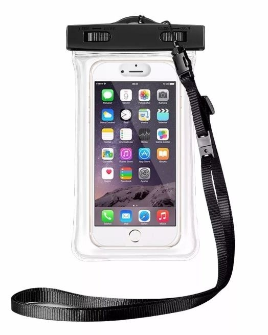 a644d80ccbe Bolsa Funda Estanco Sumergible Celular Camara Selfie 17x9 Cm - $ 149 ...