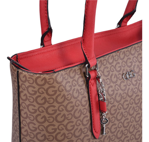 bolsa g by guess tipo tote multicolor aa204924