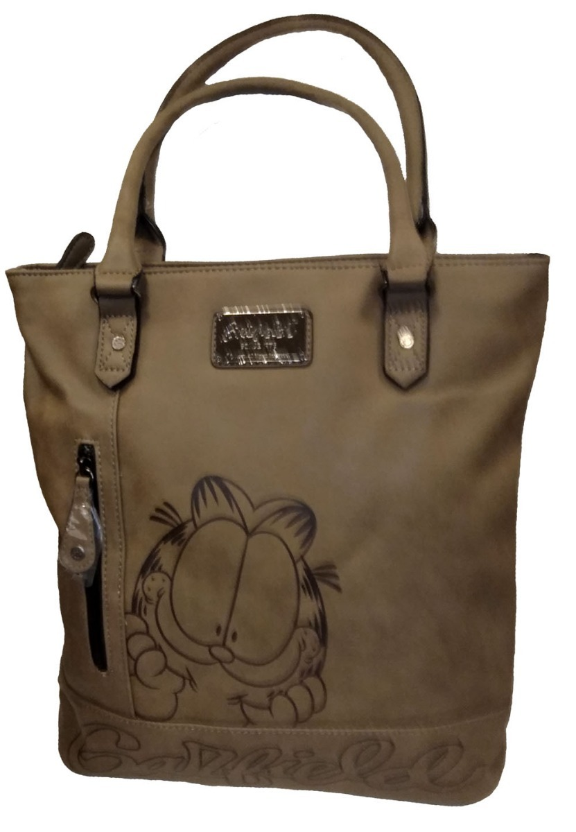0d7f7a285 Bolsa Garfield - Gf1804 - Bege - R$ 149,99 em Mercado Livre