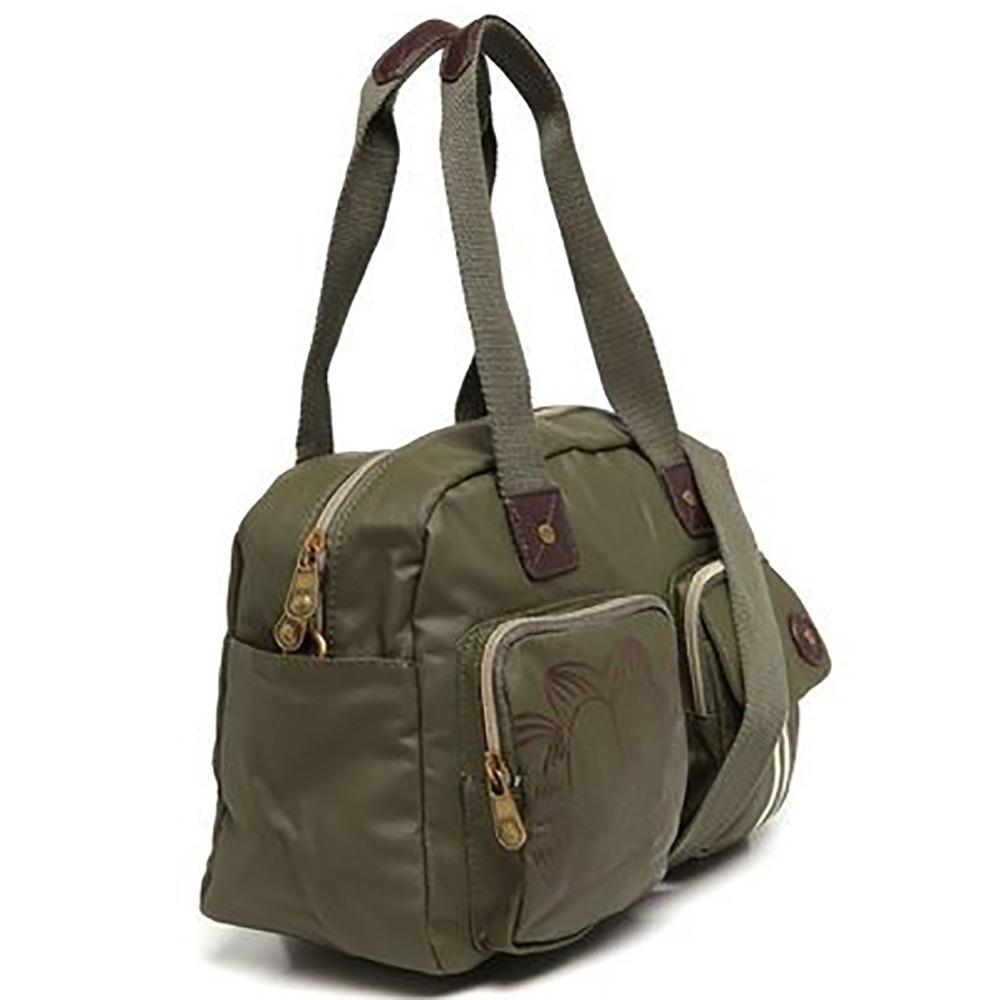 5ef917687 Bolsa Garfield Gf3803 Coleção Holidays Verde Musgo - R$ 149,90 em ...