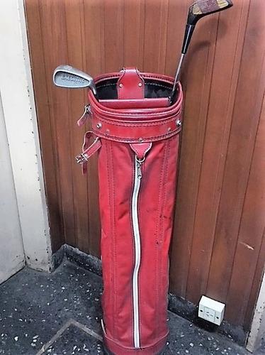bolsa golf spalding cuero