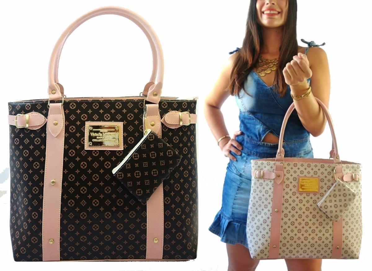 bb78f7840 bolsa grande de luxo linda importada tiracolo + carteira. Carregando zoom.