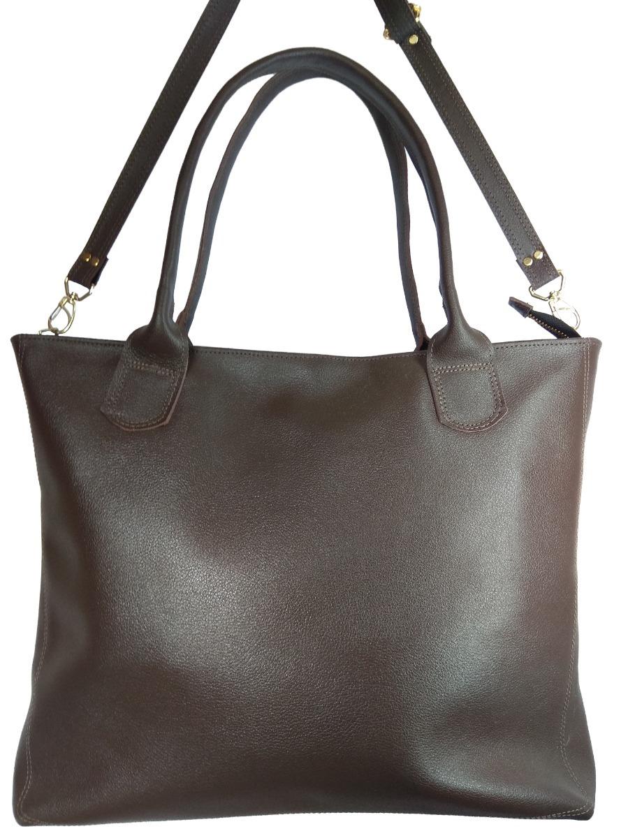 51411d20d bolsa grande feminina sacola ombro em couro legítimo moderna. Carregando  zoom.