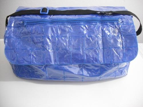 bolsa grande plastico vinil, tipo piscina ótimo estado