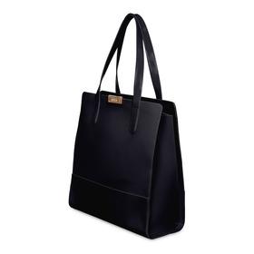 Bolsa Grande Shopper Bag Preta Petite Jolie Ombro - Nova