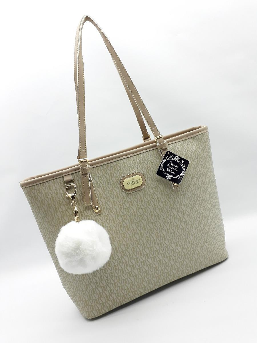 848b98d7a3708b Bolsa Grande Victor Hugo Média Gucci Mk Lv Neverfull Canvas - R$ 195 ...