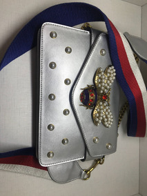 d8140045dc Bolsas Gucci Preco Por Modelo - Bolsas de Couro Prateado no Mercado ...