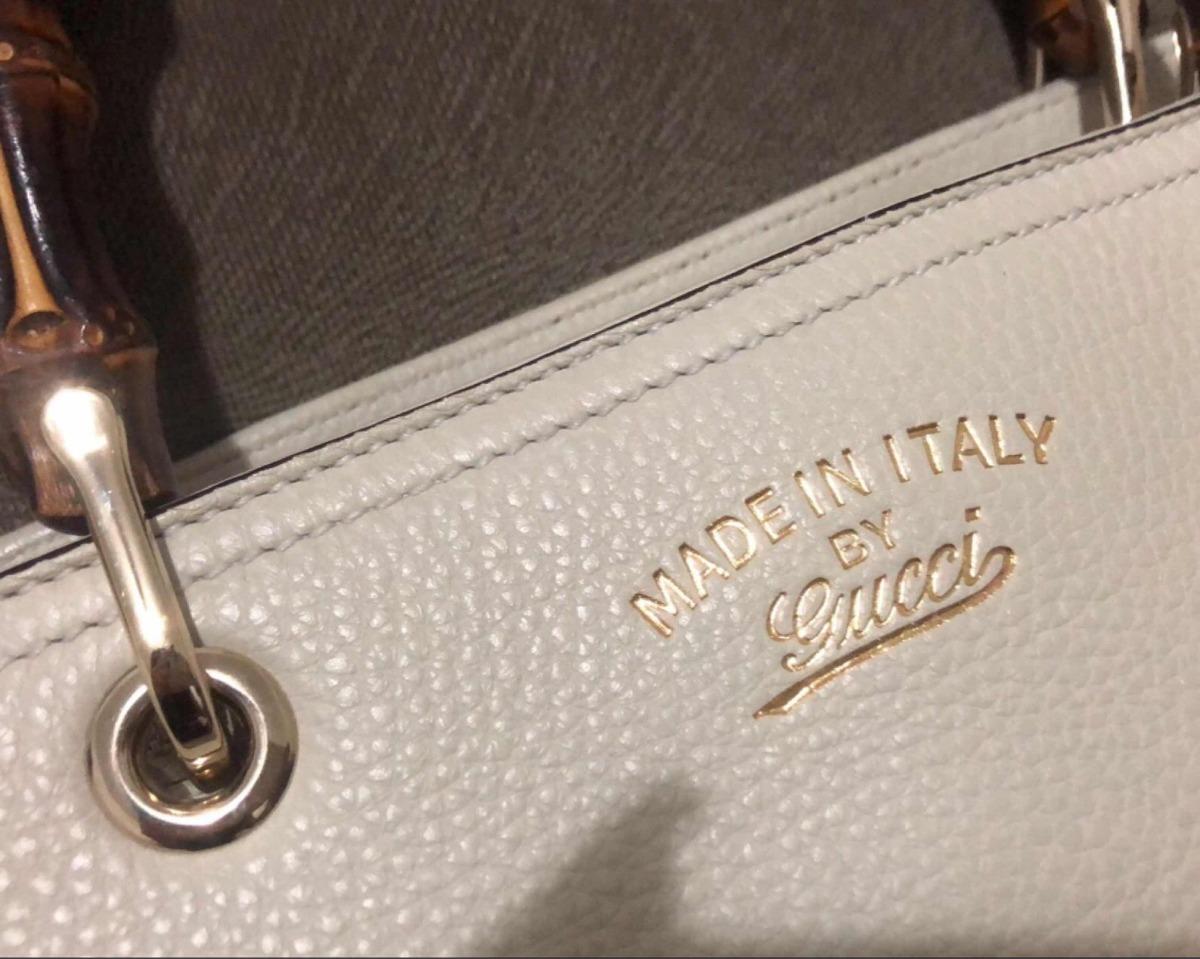 94c9d6508 Bolsa Gucci Bamboo Original C Nota - R$ 4.900,00 em Mercado Livre