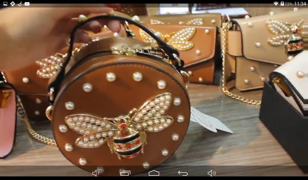 Bolsa Redonda Inspiracao Gucci( Bolsas) - R  150 eda769cc948