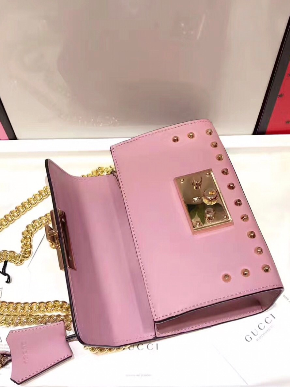 9ad05b6d5 bolsa gucci couro rosa pérola feminina - pronta entrega. Carregando zoom.