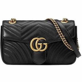 e2d7fc7da Bolsa Gucci Marmont Matelassê Feita Na Itália Original