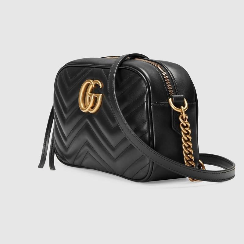 1a94c71dc Bolsa Gucci Marmont Matelassé Gg Couro - R$ 1.899,90 em Mercado Livre