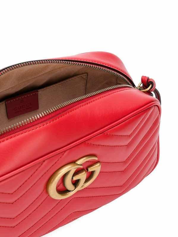 c23bb9688 Bolsa Gucci Marmont Vermelha Original Mini - R$ 1.978,90 em Mercado ...