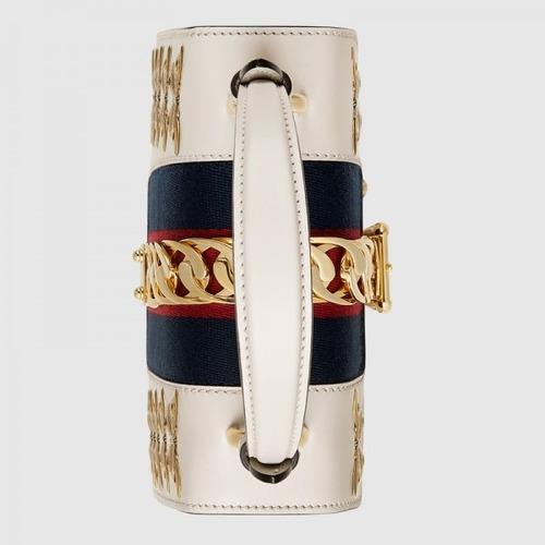 00d7101d7 bolsa gucci sylvie animal studs leather mini bag original · bolsa gucci mini  bag