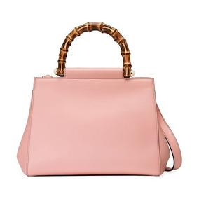 ea328b132 Bolsa Gucci Em Jacquard E - Bolsas de Couro Rosa claro no Mercado ...