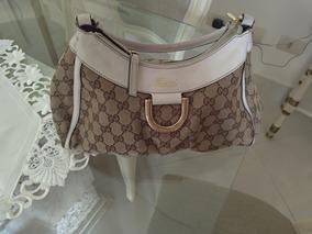 c3c9a605f Bolsa Gucci Tecido - Bolsas Branco no Mercado Livre Brasil
