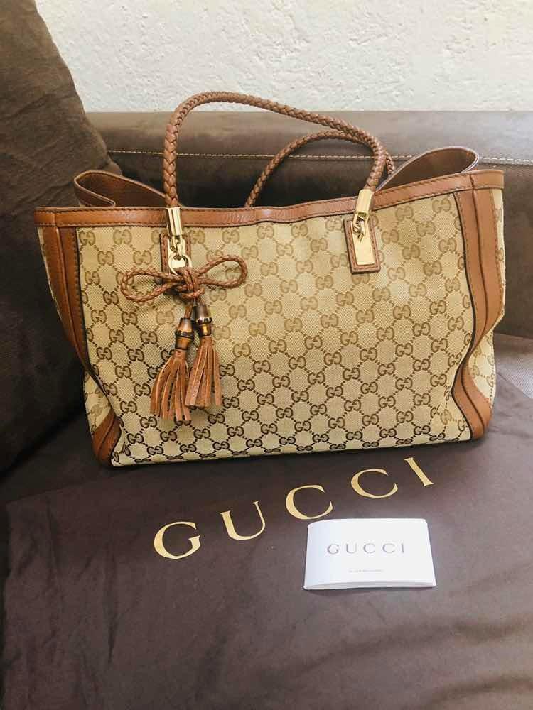 Bolsa Gucci Original Impecable No Louis Vuitton O Prada ... 1561a41a8b0