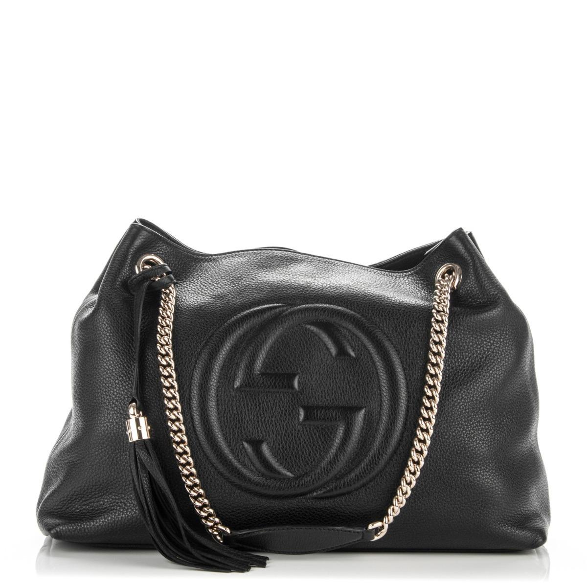 Bolsa Gucci Original Soho Shoulder 100% Autentica - R  1.799,00 em ... 54f6a62aa2