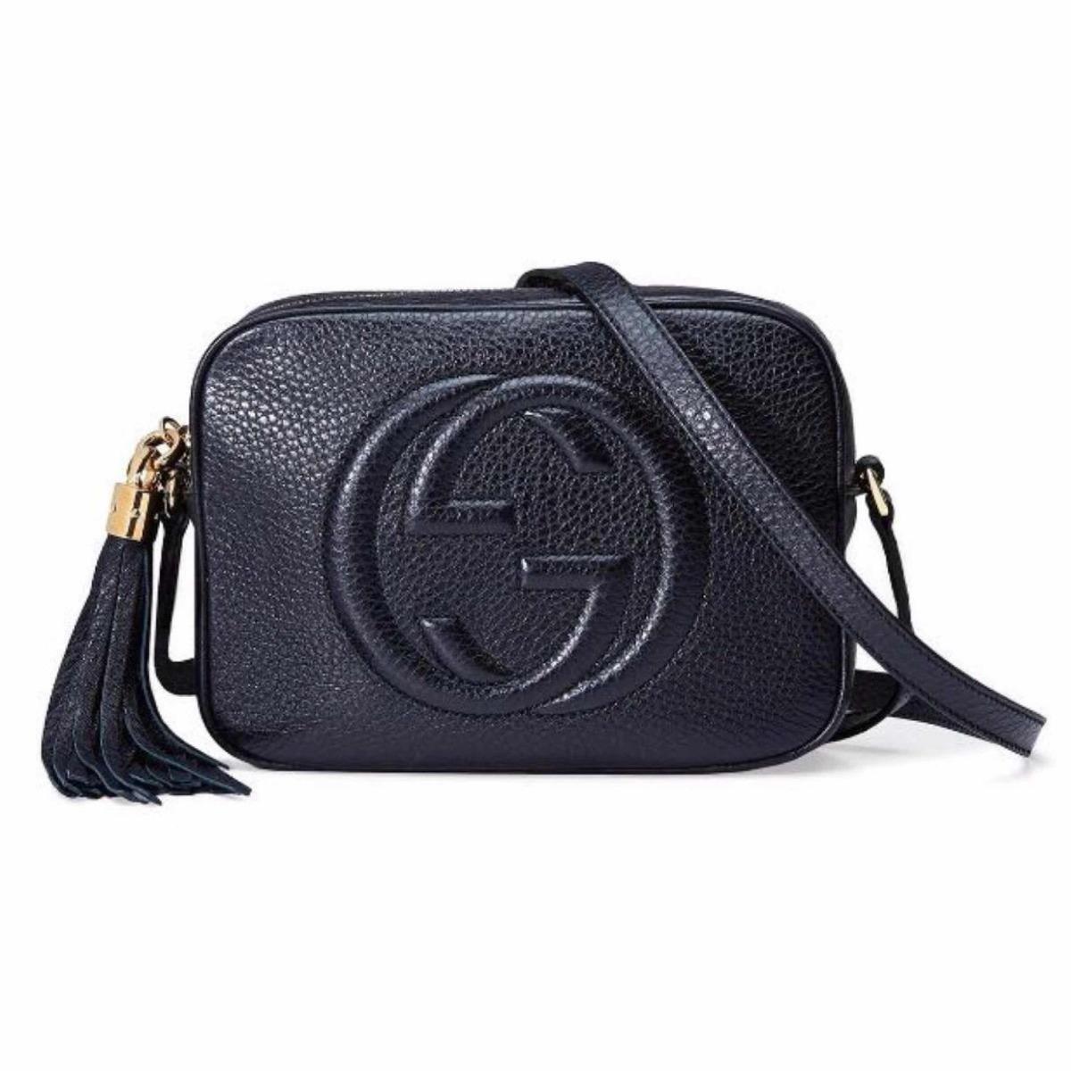 c92ec757a bolsa gucci soho bag 100% couro feita na itália original. Carregando zoom.