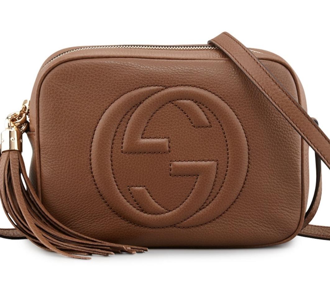 f5d3078d9 Bolsa Gucci Soho Caramelo Marrom - R$ 549,00 em Mercado Livre