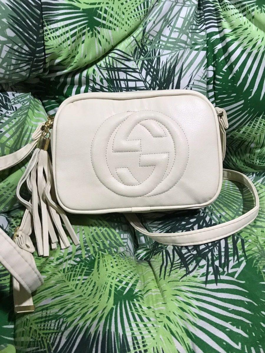 890e0aac4e4c0 Bolsa Gucci Soho Disco  bege Clara  - R  190,00 em Mercado Livre