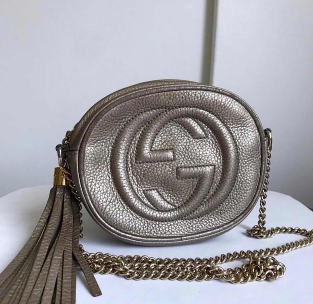 e02713909 Bolsa Gucci Soho Disco Chain - R$ 3.499,00 em Mercado Livre