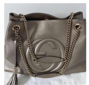 b69e48718 Bolsa Gucci Sonho - Bolsas Femininas Dourado no Mercado Livre Brasil