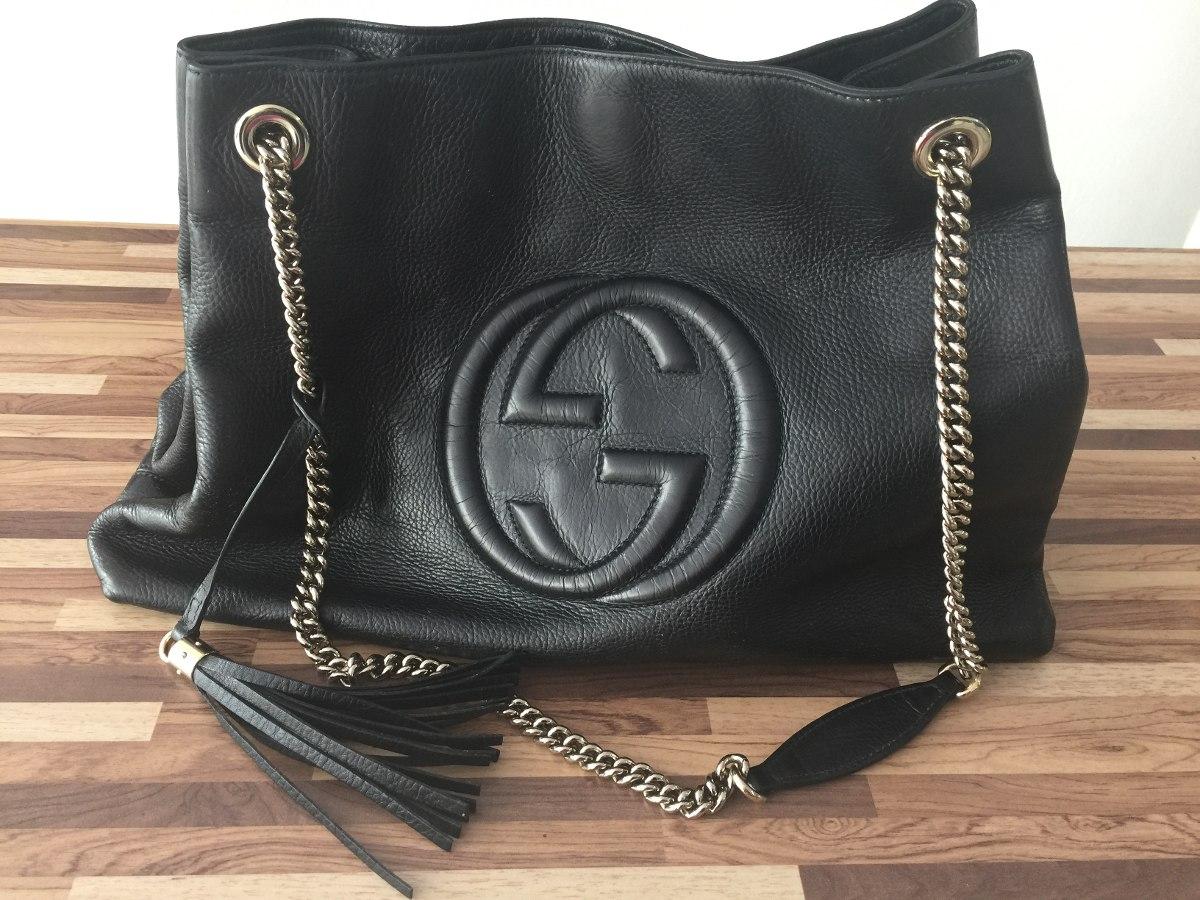a42896283 Bolsa Gucci Soho Original - R$ 3.200,00 em Mercado Livre