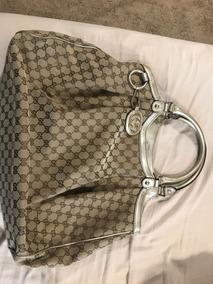 8d8e406a5 Bolsa Gucci Tecido Jacquard Tradicional - Bolsas no Mercado Livre Brasil