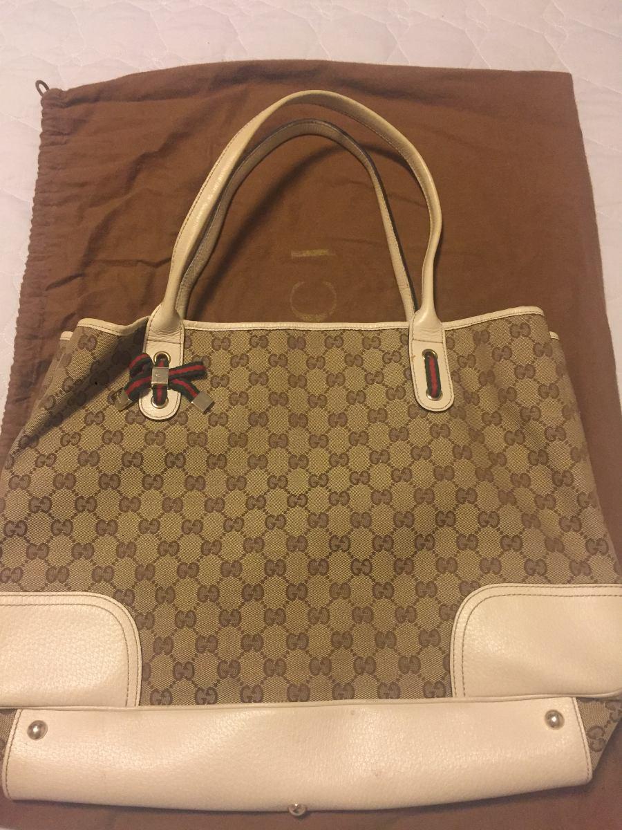 cacb19195 Bolsa Gucci Tecido - R$ 950,00 em Mercado Livre