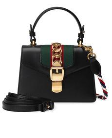 74d9c2508 Bolsa Gucci Tote Mini  sylvie  De Couro